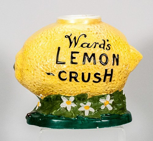 Ward's Lemon Crush Syrup Dispenser