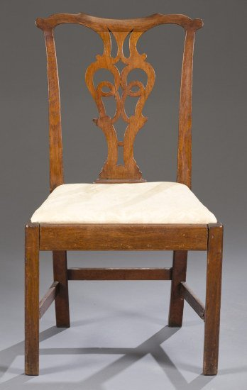 Late Chippendale Mahogany Chair