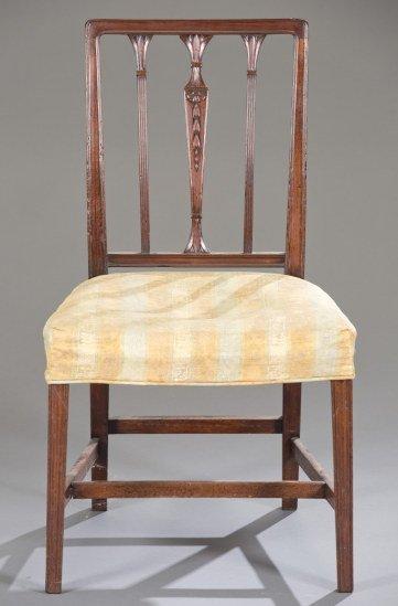19th Century Sheraton Mahogany Side Chair