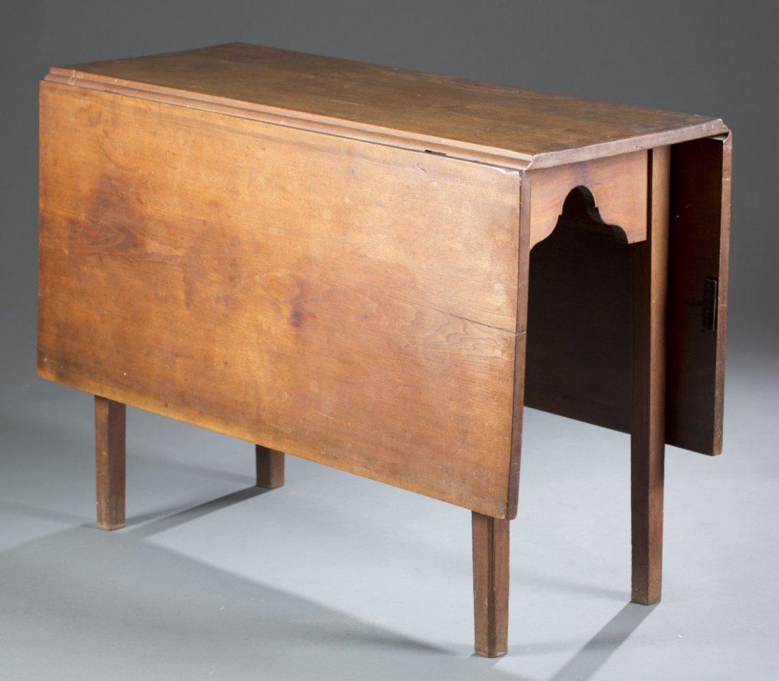 Early 19th Century Walnut Drop Leaf Gate Leg Table