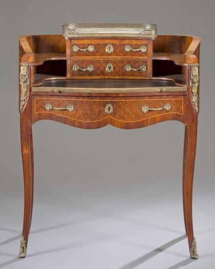 Louis XV Style Ladies Desk, Last Quarter of the 19th