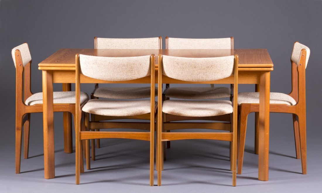 BRDR Furbo Danish Dining Set : Lot 0143