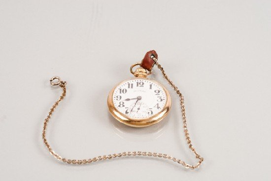 Illinois Watch Company Railroad Pocket Watch