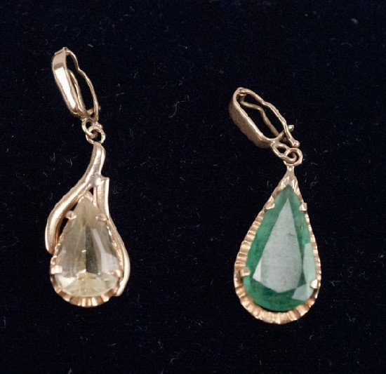Two (2) 14K Pendants