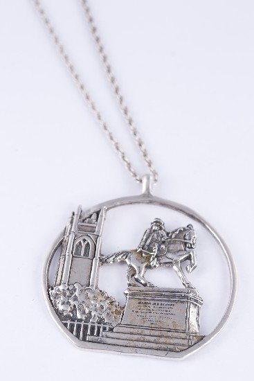 Sterling Silver Richmond Pendant Necklace