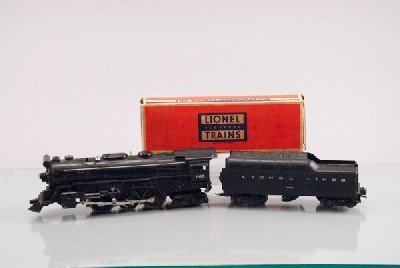 Lionel 665 Locomotive and 2046W Tender