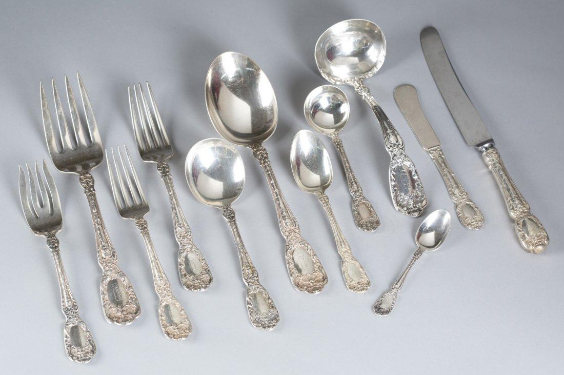 192-Piece Gorham Sterling Silver Flatware Service,