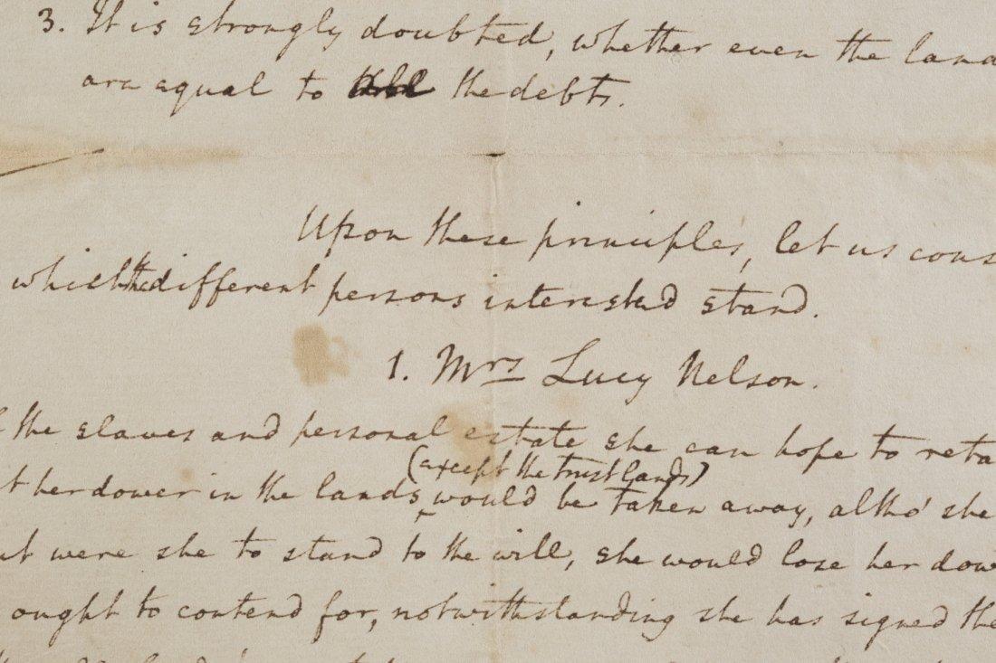 Edmund Jennings Randolph Four Page Folio, 1789, - 3