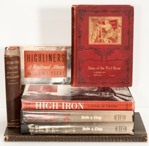 Five Titles to include: GUIDE TO RAILROAD