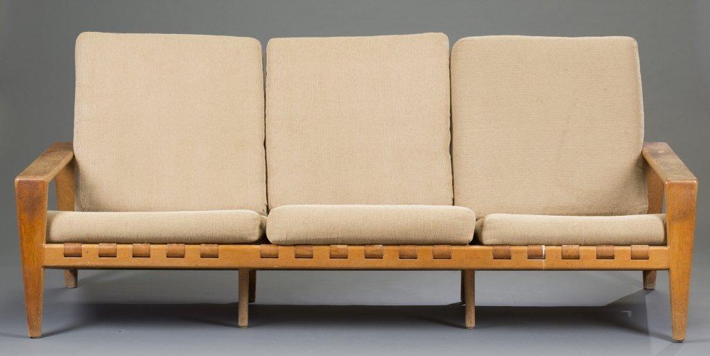 Danish Teak Three Seat Sofa