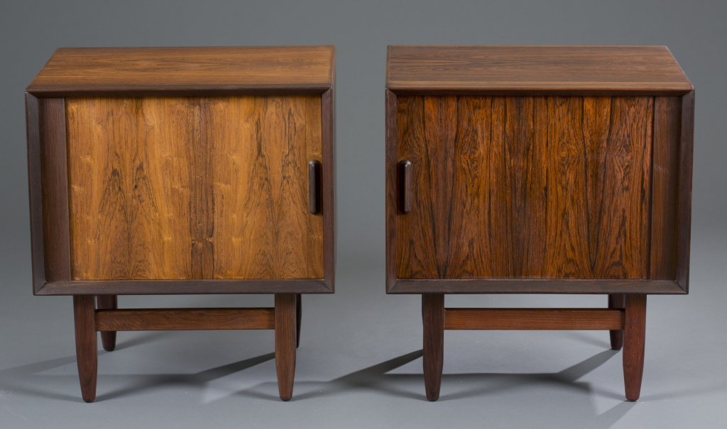 Two (2) Falster Rosewood Night Stands
