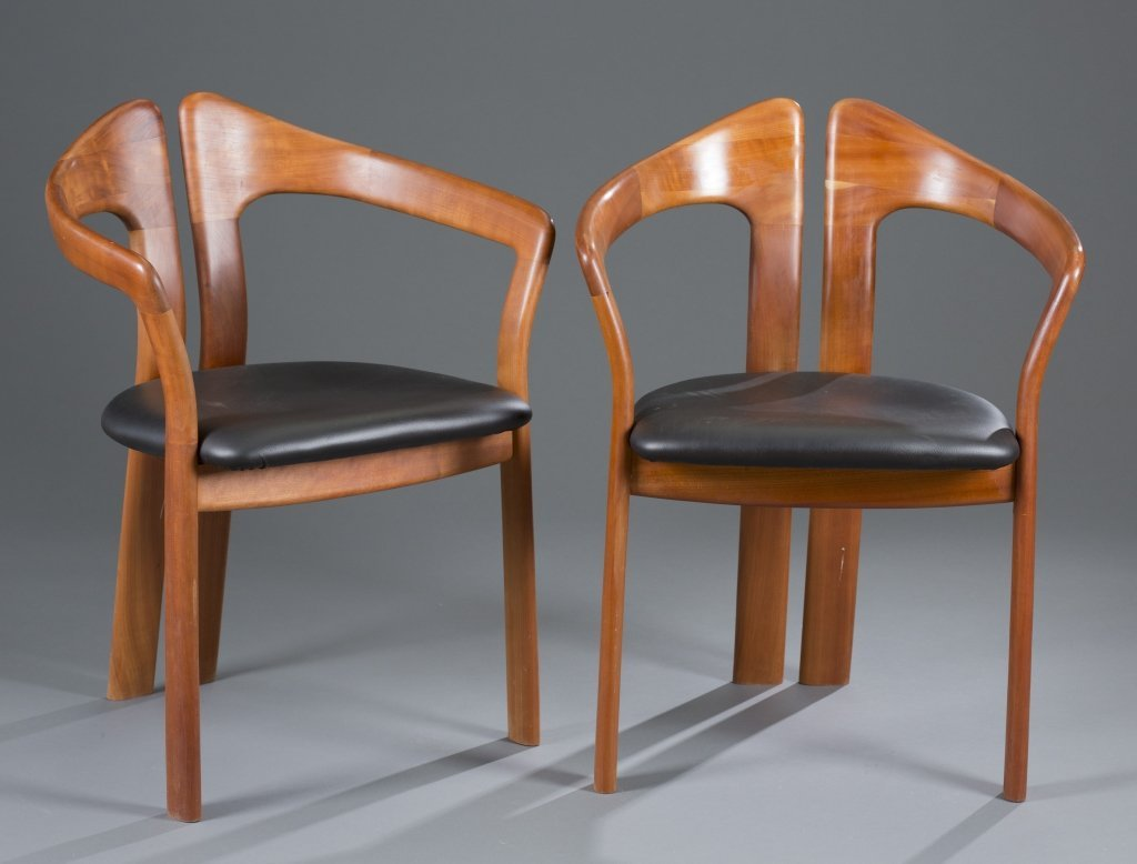 Two (2) Koefoed Occasional Arm Chairs