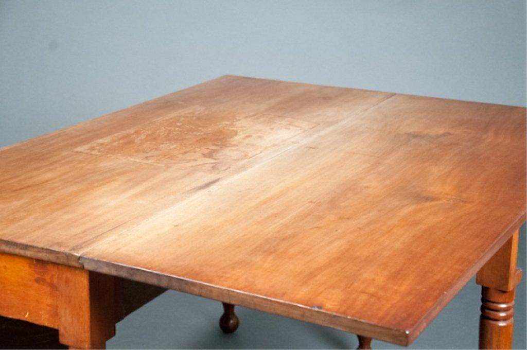 Sheraton Mahogany Drop Leaf Table - 2