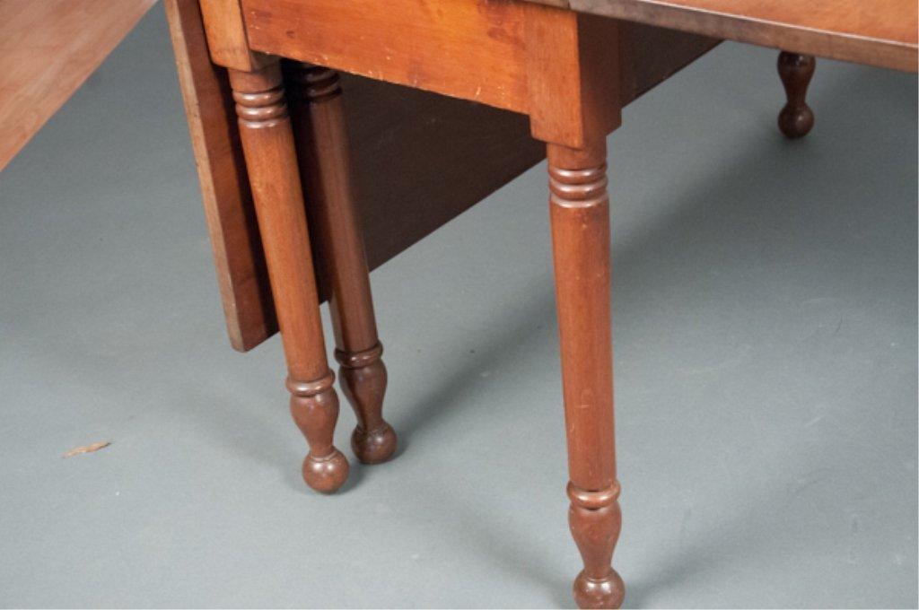 Sheraton Mahogany Drop Leaf Table - 3