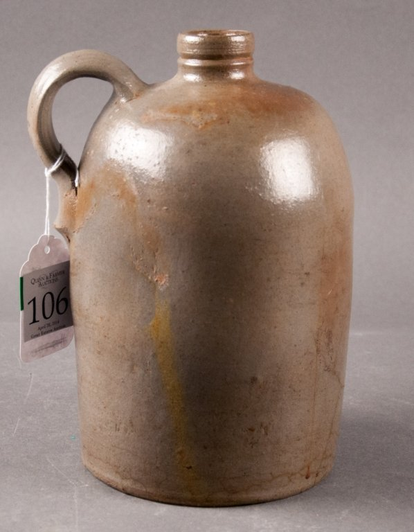 Late 19th Century American Stoneware Jug