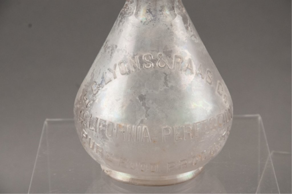 E.C. Lyons & Raas Co. Glass Bottle - 2