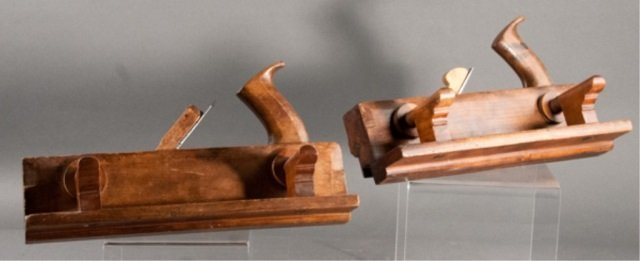Two Wooden Plough Planes