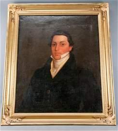 Rare 19th C Virginia Portrait of Armistead Burwell