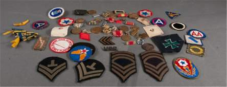 Collection of Original WWII Military Insignia
