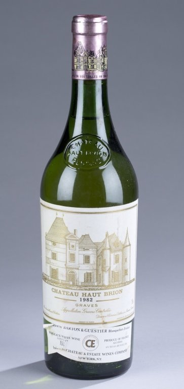 Chateau Haut-Brion Blanc Graves, 1982