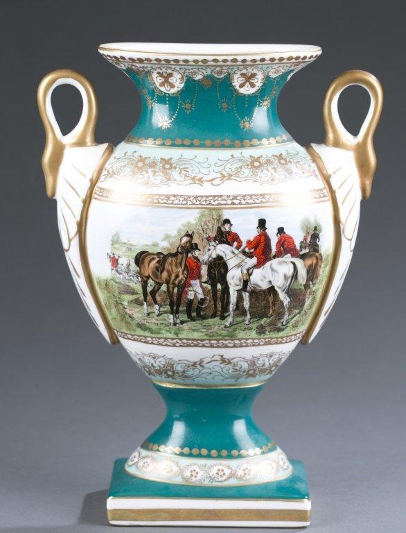 Limoges Porcelain Urn-Form Vase