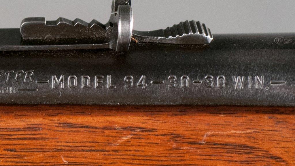 Pre-1964 Model 94 Winchester .30-.30 Carbine - 3