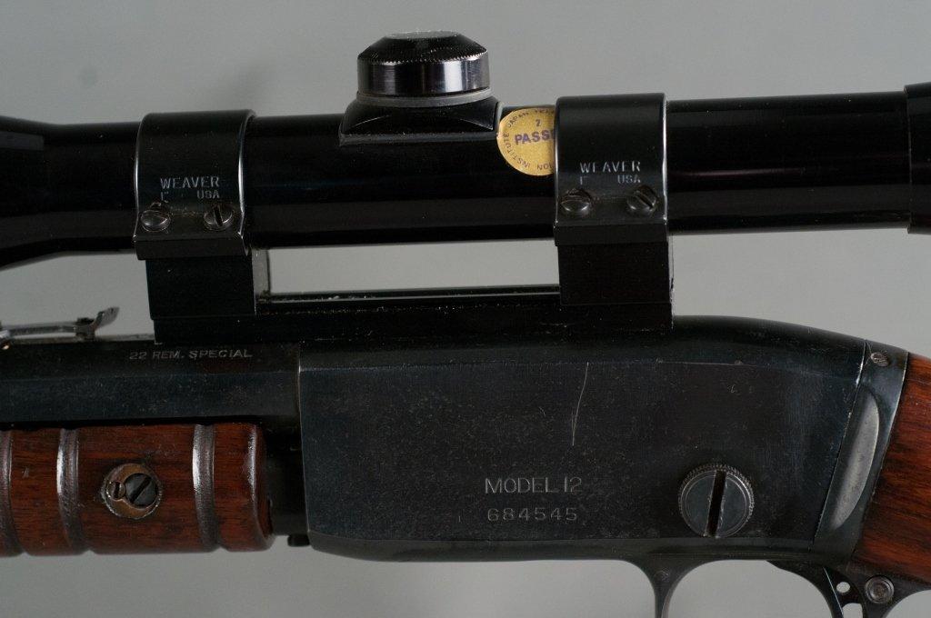 Remington Model 12CS Special .22 Rifle - 2