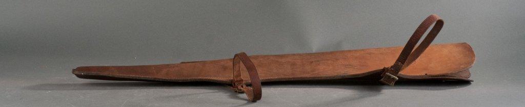 Bucheimer Leather Rifle Scabbard