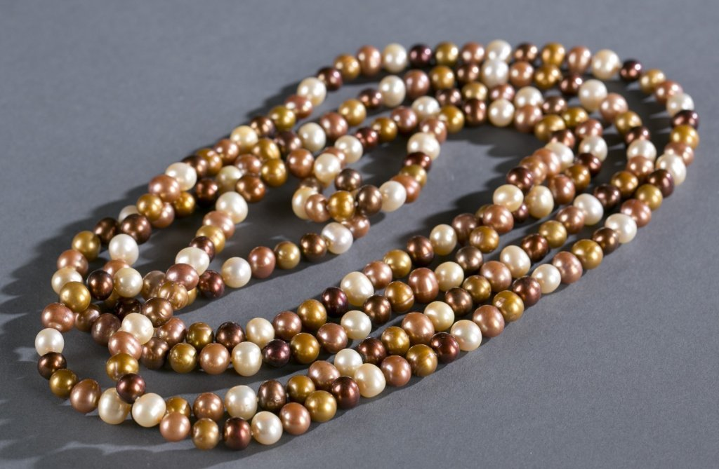 Single Strand of 8/9mm Freshwater Cultured Pearls