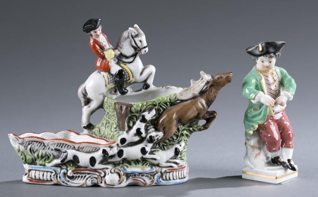 Two Pieces of German Porcelain