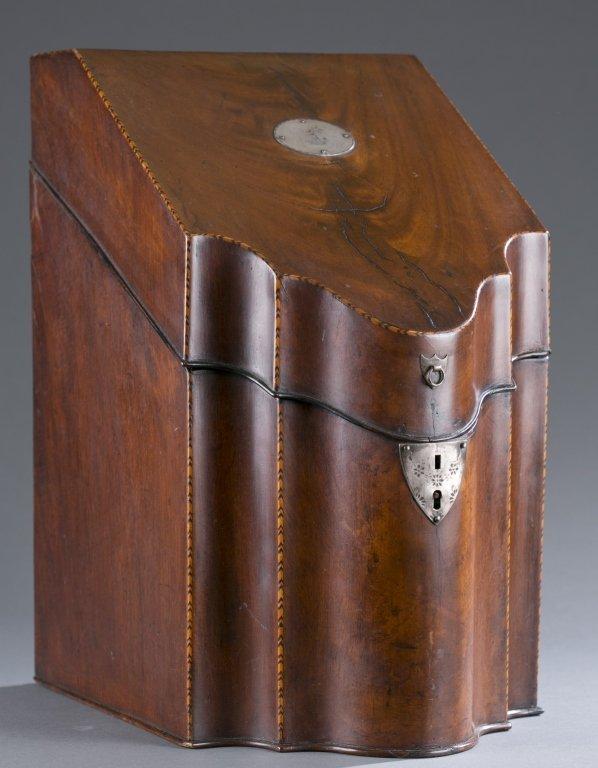 18th/ 19th c. George III Knife Box