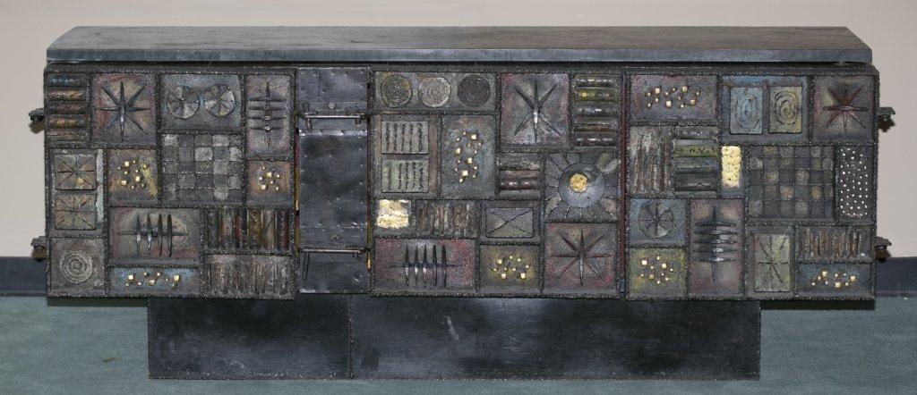 Paul Evans Sculpture-Front Cabinet