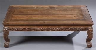 17th/18th c. Zitan Kang Table, Kangzhuo