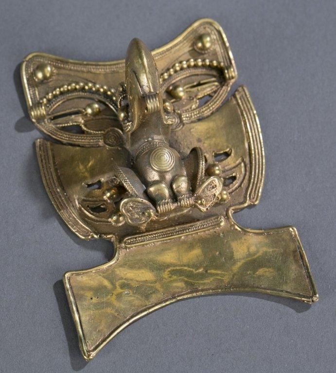 Pre Columbian Gold Alloy Bird Pendant
