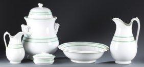English Ironstone China Washbowl Set.
