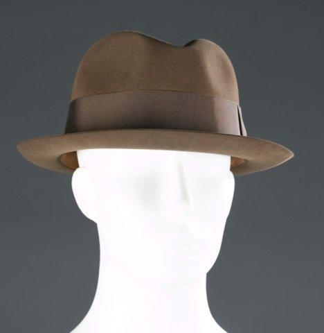 Men's Brooks Brothers Wool Fedora Hat c.1970s.