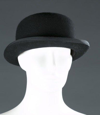Woman's Lock & Co. Wool Bowler Hat c.1980s.