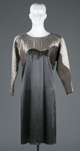 Bergdorf Goodman Silk Blend Dress, c.1970s.
