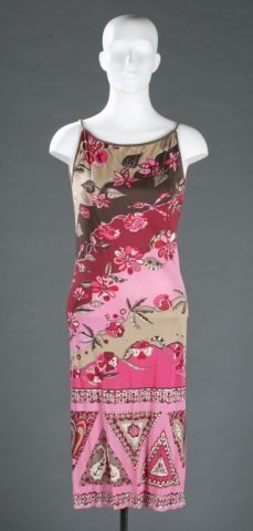 Emilio Pucci for Lord & Taylor Silk Dress, c.1960s
