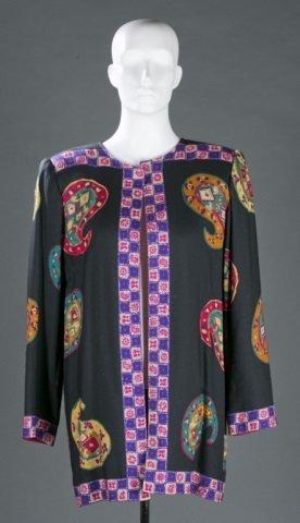 Ungaro Patterned Knit Jacket, c.1970s/80s.