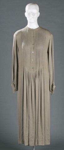Geoffrey Beene Silk Blend Dress, c.1970s.