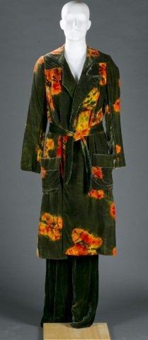 Halston Velvet Pant Suit, c.1972.