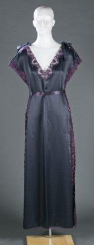 Fernando Sanchez Silk Blend Dress, c.1970s.