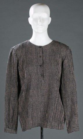 Giorgio Armani Silk Blend Blouse, c.1980s/90s.