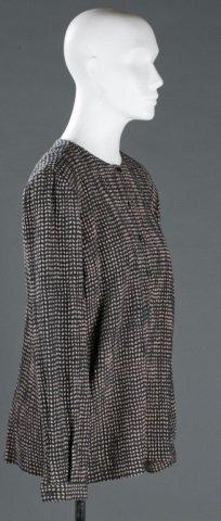 Giorgio Armani Silk Blend Blouse, c.1980s/90s. - 3
