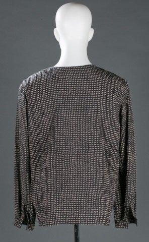 Giorgio Armani Silk Blend Blouse, c.1980s/90s. - 4