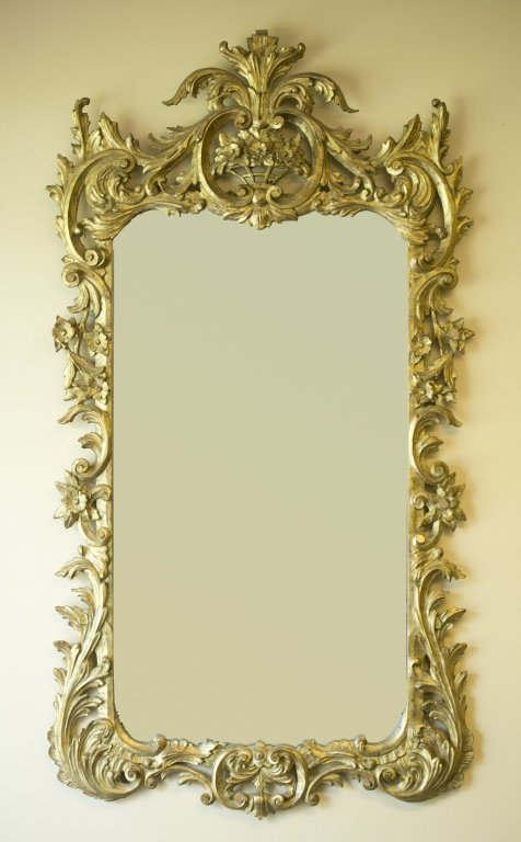 Late 19th/Early 20th c. Gilt-Framed Mirror.