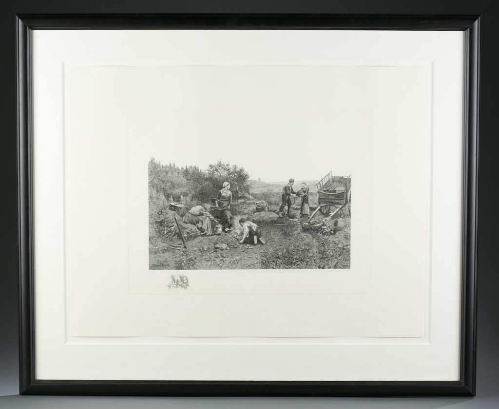 Daniel Ridgway Knight & James Tyroler Etchings.