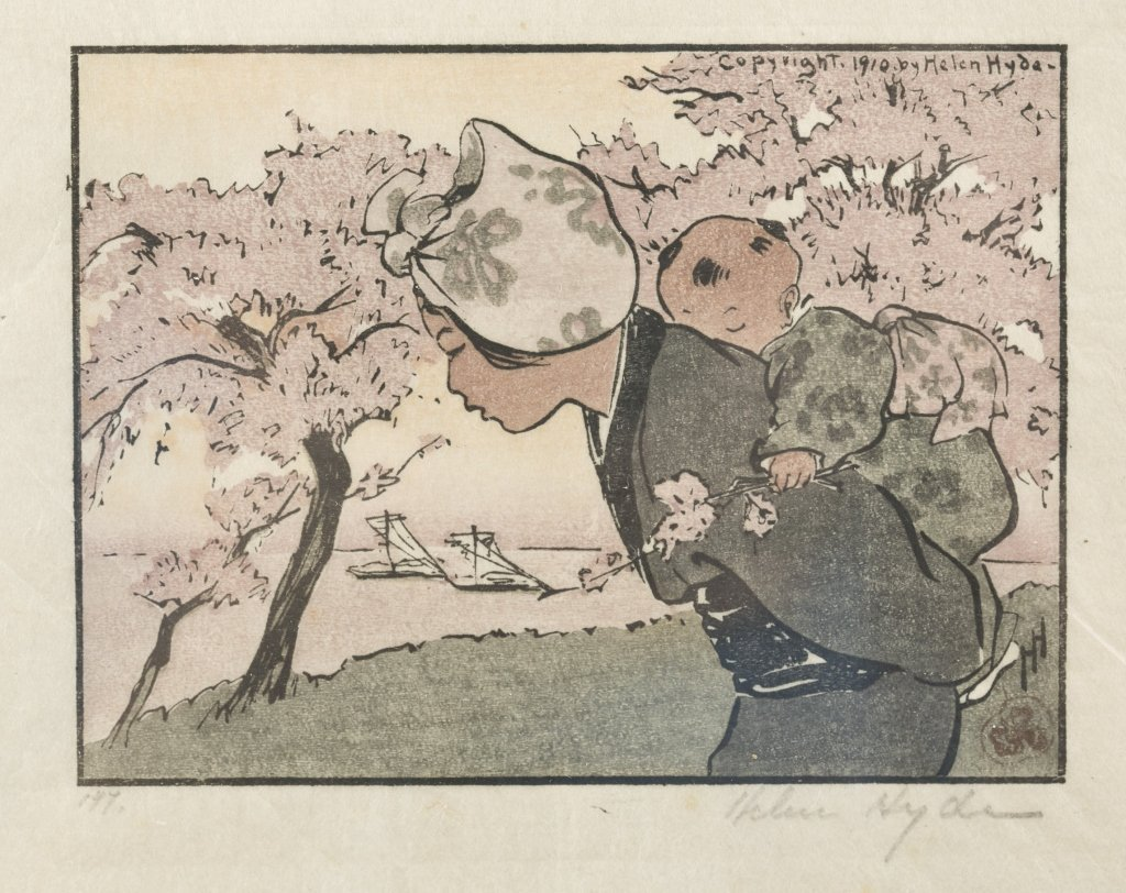 Helen Hyde (USA/Japan, 1868-1919). - 2