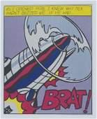 Roy Lichtenstein (America/New York, 1923-1997).